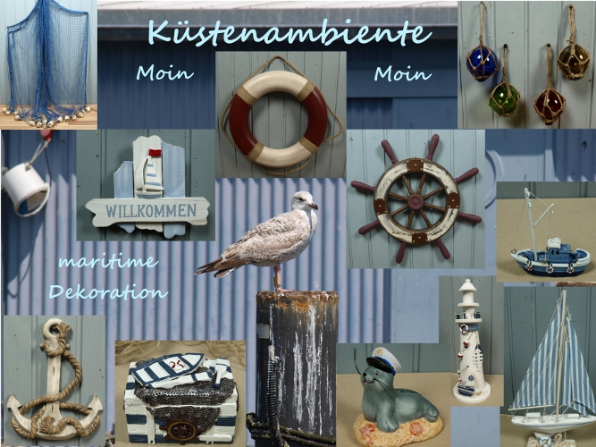 k stenambiente maritime deko artikel und mehr k stenambiente. Black Bedroom Furniture Sets. Home Design Ideas